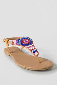 f852033285bed Marcela Beaded Sandal francesca s. Pretty ShoesCute ...