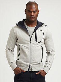 RLX Ralph Lauren - Full-Zip Hoodie - Saks.com