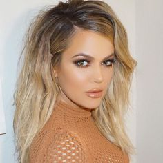 @khloekardashian inspired hair and makeup tutorial up soon, stay tuned ❤️ Any celebrity look requests ?  Love Ceren X