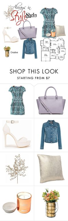 """Sheinside (157)"" by sosfamforlife ❤ liked on Polyvore featuring MICHAEL Michael Kors, Nly Shoes, Tommy Hilfiger and Dot & Bo"