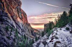 For the history buff: Eldorado Canyon State Park