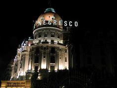 Hotel Le Negresco, Nice, France.