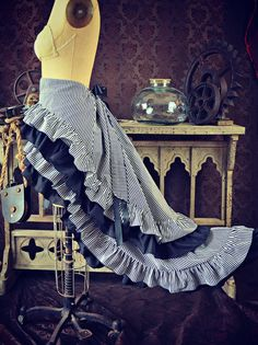 I love this one ^^ Scandalous Victorian Steampunk Black and White von WaterlilyWorks
