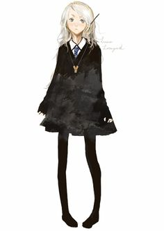 I know she's not really a hufflepuff, but in my mind she's an honorary house member.