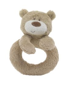 Mothercare Loved So Much Ring Rattle - a bear for Benny bear