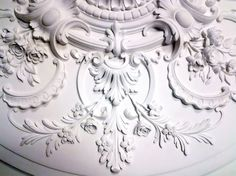 Hyde Park Mouldings - A custom French Period Ceiling Medallion in our workshop... Hyde Park Mouldings.... Old school plaster Mouldings!!! OMG PRICELESS!!