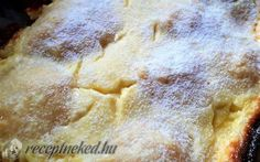 Hungarian Cake, Hungarian Recipes, Flan, Slab Pie, Sweet And Salty, Winter Food, Pie Recipes, Banana Bread, Food And Drink