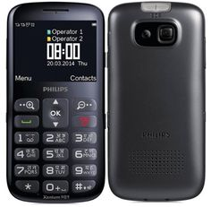 Inexpensive and long lasting phone Philips X2566 suitable for older users