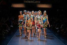 A Primavera/Verão super italiana da Dolce&Gabbana | Blog Helena Mattos #mfw #ss16 #dolcegabbana