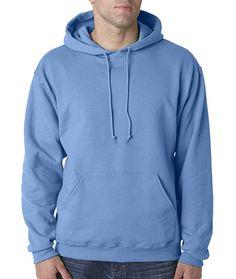 Amazon.com: Jerzees 8 oz. NuBlend 50/50 Pullover Hood, Columbia Blue - Medium: Clothing