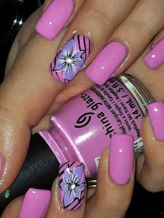 Nails 2 die for Pink & Pretty