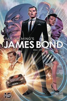 The Book Bond: Dynamite reveals next JAMES BOND 007 series Bond Series, New Series, Stranger Things, Charlie Higson, Gotham News, Mode Punk, New James Bond, Anime Release, Young Avengers