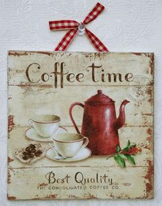 Coffee time …