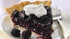Fresh Blackberry Pie -