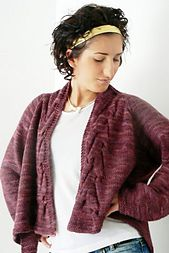 Lysistrata's Chiton, pattern by Brenda Dayne. What Would Madame Defarge Knit? by Heather Ordover, Editor. cooperativepress.com