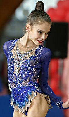 Rhythmic gymnastics leotard (photo by Kondakov)