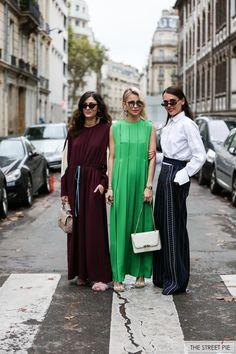 Outside Valentino / Paris Fashion Week SS18