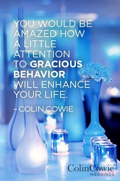 Words of Wisdom, Expert Tips, Colin Cowie Advice, Wedding Advice, Wedding Wisdom || Colin Cowie Weddings