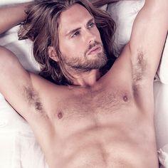 P. Bastian Welte by Justaw #malemodel #longhair #beard #pogonophile #dontshave