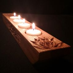 Hey, I found this really awesome Etsy listing at https://www.etsy.com/listing/213141253/tea-light-candle-holder-in-oak-with