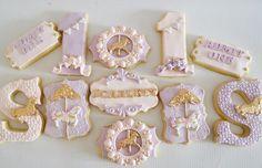 Carousel Birthday 🦄✨ #sugarcookies #birthdaycookies Happy Birthday Scarlett✨