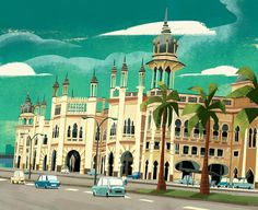 Sultan Abdul Samad building on Behance