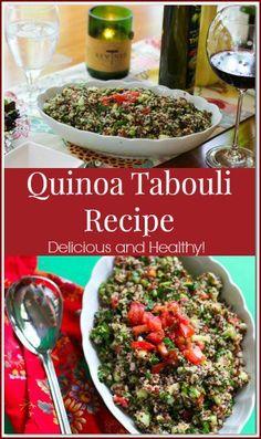 Quinoa Tabouli Recip