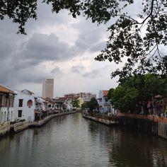 Melaka River @ Melaka, Malaysia