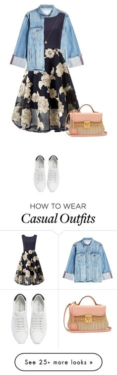 """Untitled #291"" by shinrashuya on Polyvore featuring Frame, Prada and Mark Cross"
