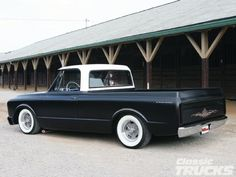 68 Chevy C10 - We had a beautiful blue 72   I think I miss that truck! A lot of blood sweat and tears went into that thing!