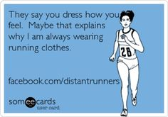 If only I could wear running clothes to work