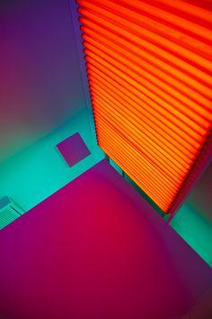 "Carlos Cruz Diez, ""Chromosaturation"" 1965-2013, Hayward Gallery, Londra"