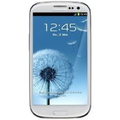 Samsung Galaxy S III i9300 Smartphone 16 GB (12,2 cm (4,8 Zoll) HD Super-AMOLED-Touchscreen, 8 Megapixel Kamera, Android 4.0) ceramic-white Top-Preis « Licht Wecker