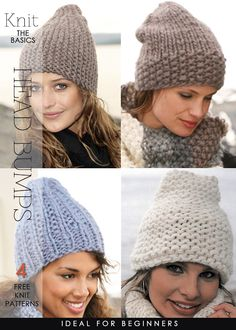New beanies to knit and crochet are definitely different - DiaryofaCreativeFanatic