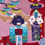 Alexander Henry Indochine Anesama Dolls Red [AH-DE7669-AR] - $10.45 : Pink Chalk Fabrics is your online source for modern quilting cottons and sewing patterns., Cloth, Pattern + Tool for Modern Sewists