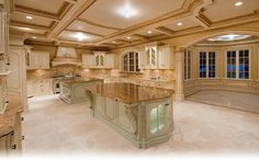Luxury Kitchen Designs Traditional