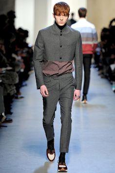 Kris Van Assche Fall 2013 Menswear Collection Slideshow on Style.com