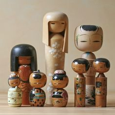 Originally from Northern Japan, Kokeshi dolls are cute as a button and highly collectible. Crafted by turning a small log, the dolls are simple in form and decoration, in keeping with historical trends in Japanese design.