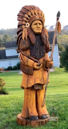 Chainsaw Carving by Paul is a professional chainsaw carver in the York PA area. Simple Wood Carving, Wood Carving Faces, Wood Carving Art, Wood Art, Wood Carvings, Paper Mache Sculpture, Driftwood Sculpture, Abstract Sculpture, Metal Sculptures