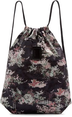 Marc Jacobs - Multicolor Japanese Drawstring Backpack