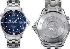 In 2002 Omega released their first of a series of commemorative James Bond watches. The Omega Seamaster 300M 2537.80.00 had a dual function – to celebrate the release of Pierce Brosnan's Die Another Day (2002), and the 40th anniversary of the Bond film series, which started with the release of the movie Dr. No in 1962. The model was produced in a limited edition of 10,007 pieces.