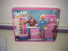 Barbie So Much to do Playset Bank NIB | eBay