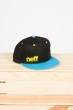 3522f3158bb Shop the Guys NEFF Colour Block Embroidered Snapback from Bluenotes .Check  out the Bluenotes website to find the best items to pair with it.