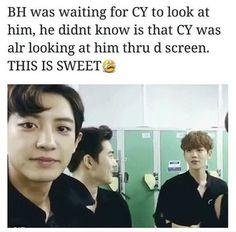 Awwww my chanbaek Exo Chanbaek, Exo Ot12, Namjin, Yoonmin, Taekook, Exo Memes Funny, Tao, Day6 Sungjin, Exo Facts