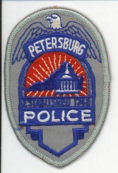 Royal Palm Beach Police Florida Shoulder Patch