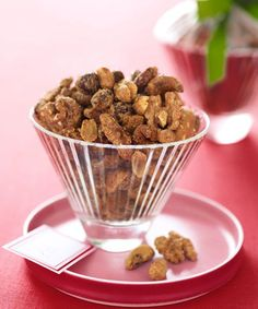 Cumin, cinnamon, and ground chipotle pepper give these easy baked nuts their irresistibly addictive flavor. Give them as gifts or keep around for company during the holiday season. Get the recipe for Sweet and Sassy Nuts  - GoodHousekeeping.com