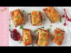 Turkey, Cranberry & Brie Rolls - My Fussy Eater