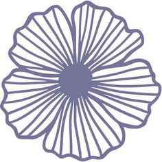Flower Silhouette, Silhouette Design, Paper Artwork, Giant Paper Flowers, Flower Template, Stencil Designs, Drawings, Lino Prints, Block Prints