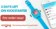 Last chance to get a very special price for your Octopus watch…