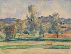 cezanne1883 85 paysage dautomne le pilon du roi - Lumire Colore